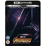 Avengers: Infinity War Filmer Avengers Infinity War [Blu-ray 4K] [2018] [Region Free]